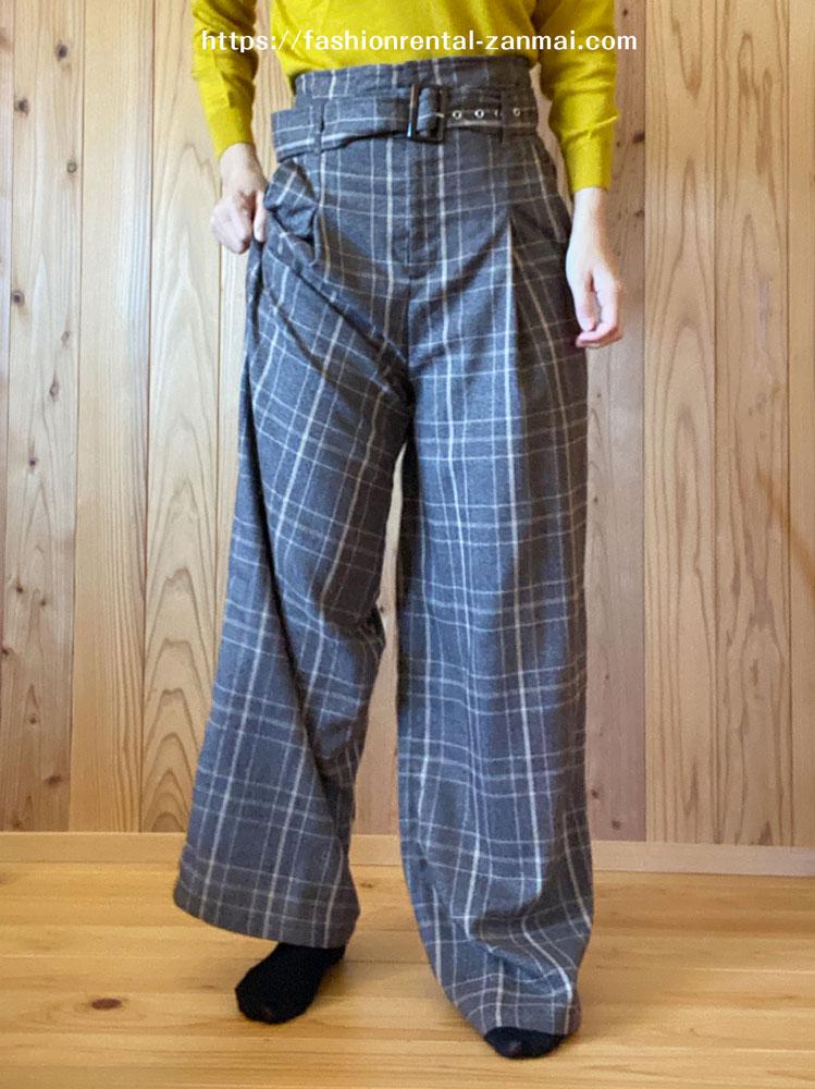 Rcawaiiから届いたパンツのサイズ感が大きすぎて着れない