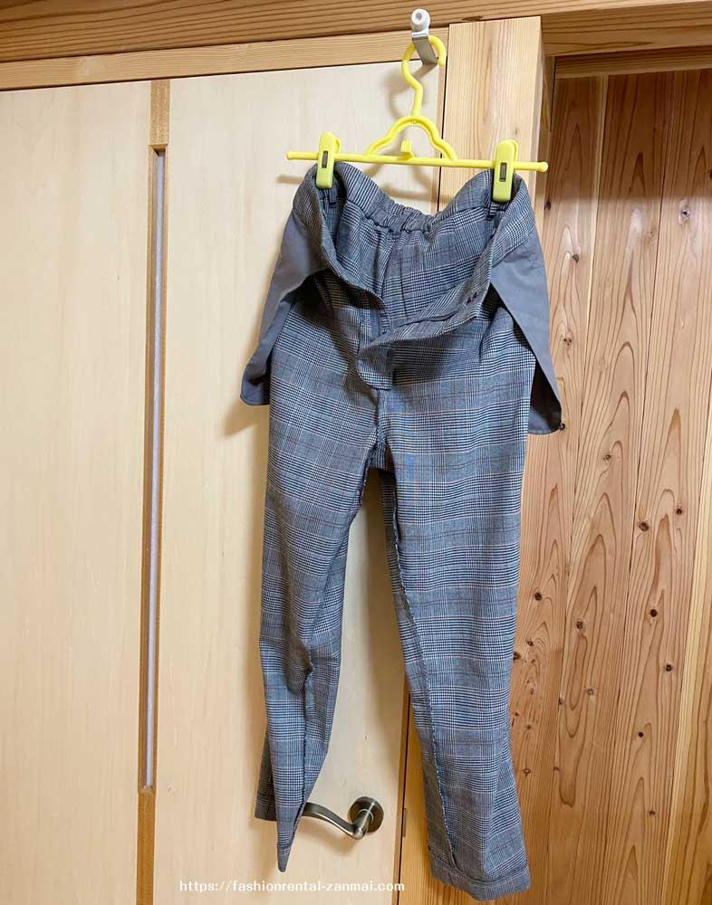 Rcawaiiの洋服を洗濯する(洗濯機を使う場合・日陰でつり干し)