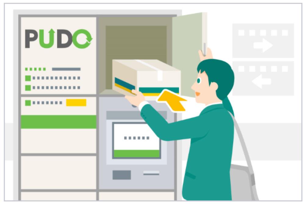 メチャカリ返却・交換方法と手順(PUDOステーションを使って返却する方法)