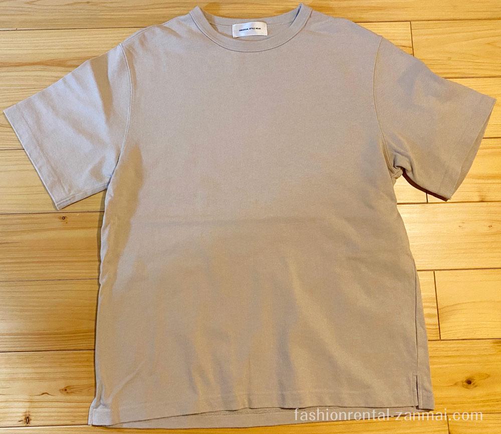 leeapから実際に届いた洋服(Tシャツ)