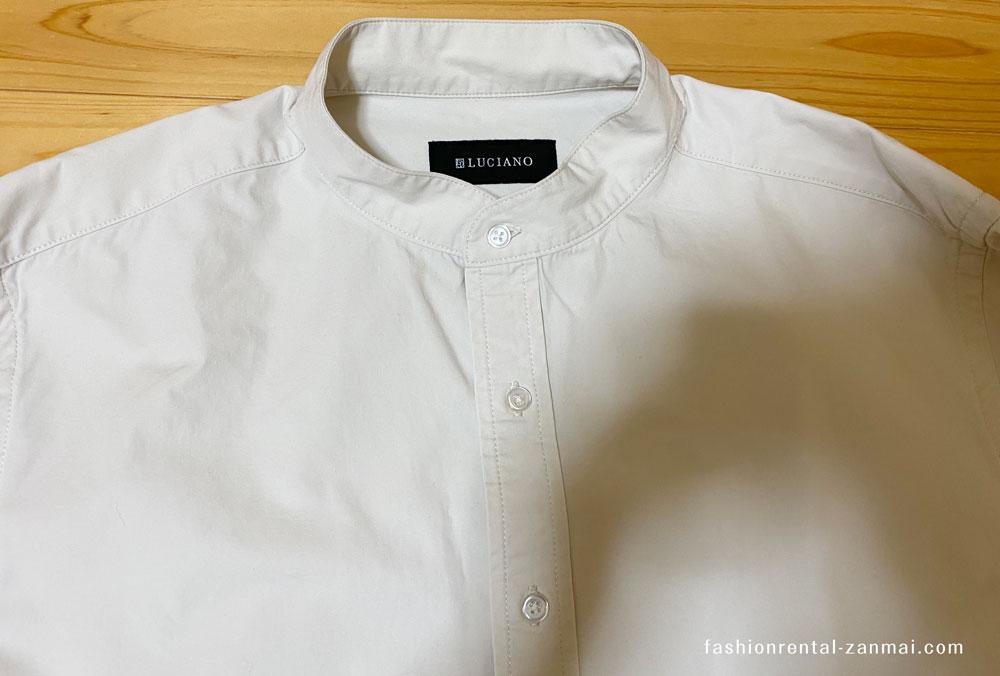 leeapからレンタルした洋服(LUCIANO / シャツ)